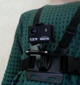 Держатель для экшн камеры,на тело, для спортсменов