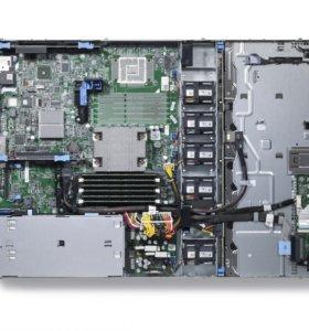 Сервер PE R320 E5-1410,2*16Gb, 3*1TB NL SAS, H710