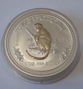 1$ 2004 год Портрет Королевы - Восточный календа