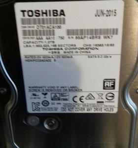 Жесткий диск toshiba 1000gb