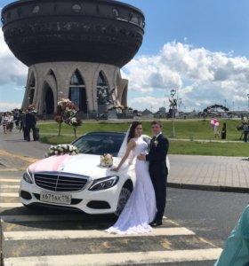 Аренда мерседес и Touareg на свадьбу