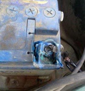 ремонт клеммы аккумулятора автомобиля