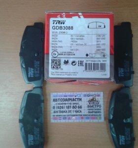 MAZDA 6 Колодки тормозные дисковые