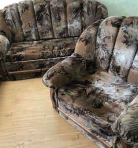 Диван и два кресла торг