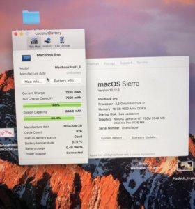 MacBook Retina 15 2014