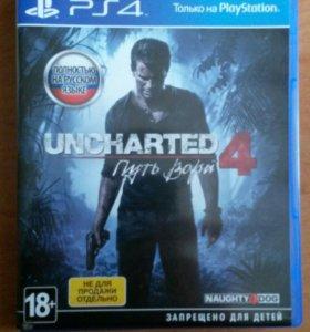 Uncharted 4 на PS 4
