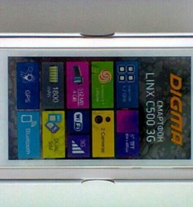 Телефон Digma Linx C500 3G