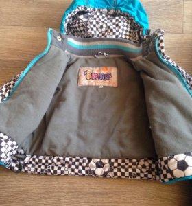 Комплект для мальчика ( Куртка+полукомбинезон)