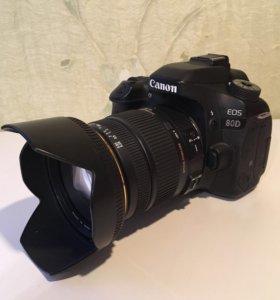 Canon 80D + Sigma 17-50 2.8 OS