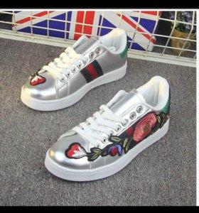 Новые кросовки GUCCI