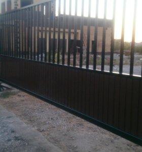 Обслуживание и ремонт секционных ворот