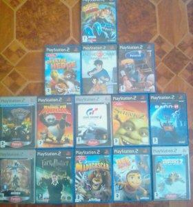 Игровые диски новые для PlayStation 2