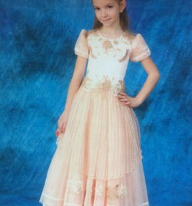 Платье с корсетом для выпускного в садик