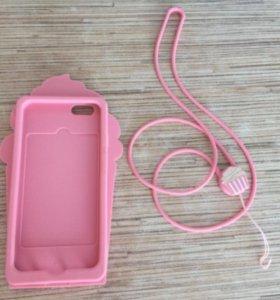 Чехол силиконовый для iPhone 6/6s 7/7s новый
