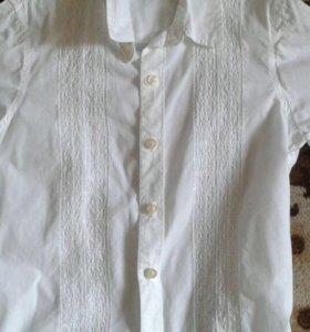 Рубашка для мальчика 6-7 лет, размер S
