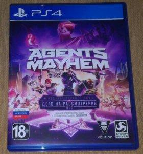 Продаю Agents of Mayhem PS4