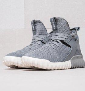 Кроссовки Adidas Tubular X Primeknit Gray
