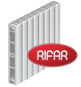 Биметаллический радиатор Rifar Supremo 1 секция