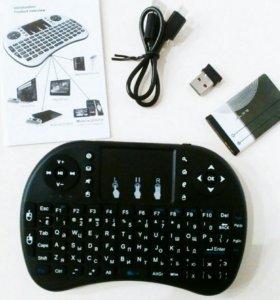 Беспроводная Kлавиатypа cо встроенным тачпадoм
