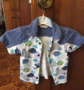 Рубашка на мальчика 4-5 л