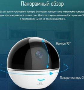 Видеокамера Ezviz C6T поворотная Wi-Fi