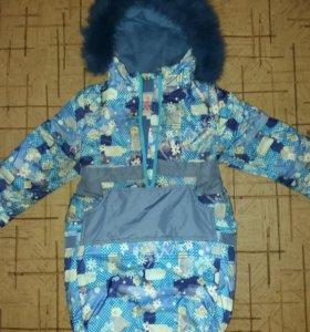 Детский зимний костюм 2в 1