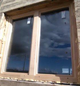 Деревянные окна для дома и дачи