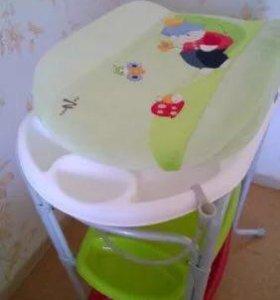 Ванночка пеленальный столик Neonato Италия