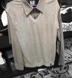 Рубашка- жилет