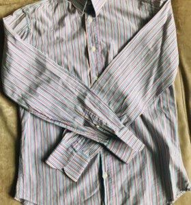 Рубашка из Италии с длинным рукавом