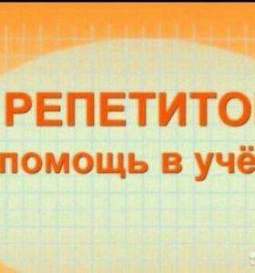 Репетитор математика,физика,теор.механика