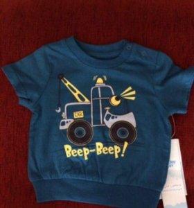 Детские футболки, боди