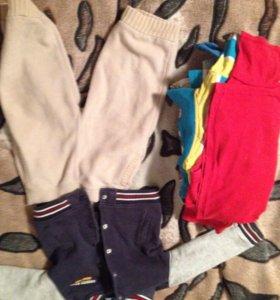 Кофта и брюки фирменные пакетом