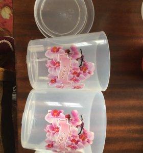 Горшки для орхидей (с поддонами)
