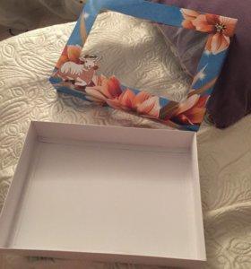 Подарочная коробка для полотенца