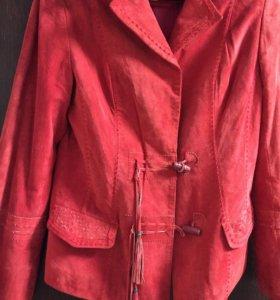 Замшевая курточка