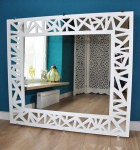 Дизайнерские зеркала для интерьера