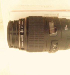 Фотообъектив Canon EF 100mm