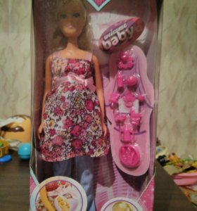 Новая кукла Штеффи беременная