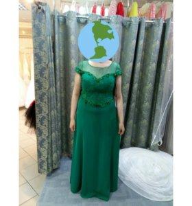 Вечернее платье большого размера!