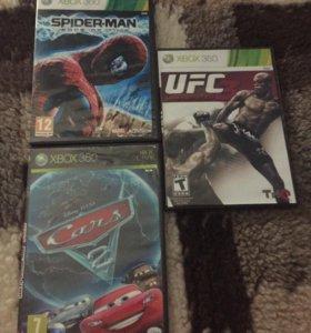 3 игры на XBOX