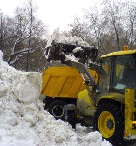 Вывоз снега чистка улиц и дворов.