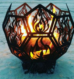 Костровая чаша, сфера для огня, очаг