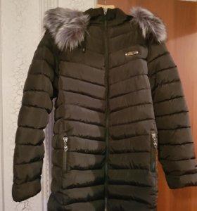 Пальто (куртка)выше колена зима весна