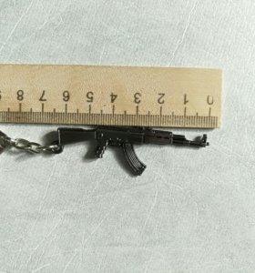 АК-47. Брелок для ключей. Брелок на ключи.