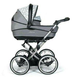 коляска DorJan Classic Plast Plus 2 в 1
