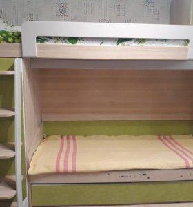 2-х этажная детская кровать