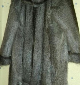 Шуба. Новая. 52-54 размер.нутрия