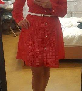 Платье расклешенное летнее легкое