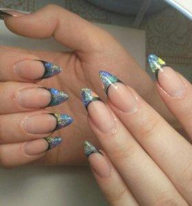 Гель-лак, моделирование ногтей 💅
